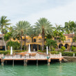 Luxurious mansion on Star Island in Miami — Stock Photo #48263323