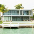 Luxurious mansion on Star Island in Miami — Stock Photo #48263333