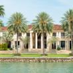 Luxurious mansion on Star Island in Miami — Stock Photo #48263337