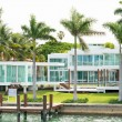 Luxurious mansion on Star Island in Miami — Stock Photo #48263443