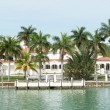 Luxurious mansion on Star Island in Miami — Stock Photo #48263927