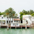 Luxurious mansion on Star Island in Miami — Stock Photo #48263973