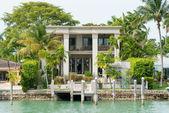 Luxurious mansion on Star Island in Miami — Φωτογραφία Αρχείου