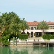 Luxurious mansion on Star Island in Miami — Stock Photo #48379905