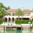 Luxurious mansion on Star Island in Miami — Stock Photo #48380105