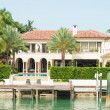 Luxurious mansion on Star Island in Miami — Stock Photo