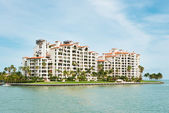 Residences at Fisher Island in Miami — Stock Photo