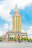 The Freedom Tower in downtown Miami — Stock Photo
