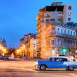 Urban scene at night in Old Havana — Stock Photo #49850503