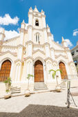 The church of El Angel in Old Havana — 图库照片