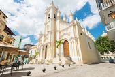 The church of El Angel in Old Havana — Stok fotoğraf