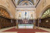 Altar at the Cathedral of Havana — 图库照片