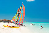 The  beach at Cayo Santa Maria in Cuba — Stock Photo