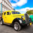 Classic Ford car on a beautiful day in Havana — Stock Photo #8688418