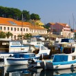 Stock Photo: Mediterranetown on shore of sea, Adriatic Sein Croatia.
