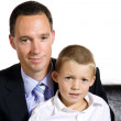 Young father and his son — Stock Photo