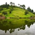 Lake Bunyonyi in Uganda, Africa — Stock Photo #17633685