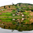 Lake Bunyonyi in Uganda, Africa — Stock Photo #17633695