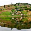 Lake Bunyonyi in Uganda, Africa — Stock Photo #17633695