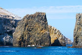 Rock near Anacapa Island, Channel Islands National Park, California, USA — Stock Photo