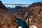 The Bridge by the Hoover Dam — Foto Stock