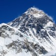 World's highest mountain, Mt Everest (8850m) in the Himalaya, Nepal. — Stock Photo #17643305