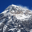 World's highest mountain, Mt Everest (8850m) in the Himalaya, Nepal. — Stock Photo