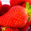 Stock Photo: Strawberry closeup