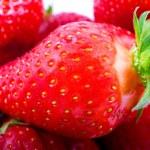 Strawberry closeup — Stock Photo