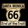 Route 66 end of Trail sign in city of SantMonica. — Stock Photo #17644461