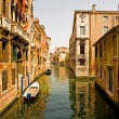 Romantic canal in Venice. — Stock Photo #17645993