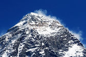 World's highest mountain, Mt Everest (8850m) in the Himalayas, Nepal. — Stock Photo