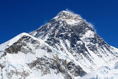 Werelds hoogste berg, mt everest (8850m) in de himalaya, nepal. — Stockfoto