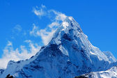 Mt. Ama Dablam in the Everest Region of the Himalayas, Nepal. — Foto Stock