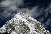 The massive bulk of Pumori just near Everest Base Camp, Nepal — Stock Photo
