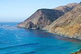 Pacific coast highway, big sur område, kalifornien — Stockfoto