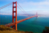 Golden gate, san francisco, california, estados unidos. — Foto de Stock