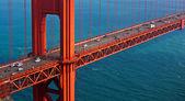The Golden Gate Bridge in San Francisco, California, USA — Stock Photo
