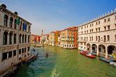 Romantische kanal in venedig — Stockfoto