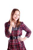 Happy teen girl posing — Photo