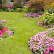 Landscaped Yard and Garden — Stock Photo #16928001