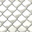 Snowy Fence — Stockfoto