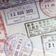 Passport stamps — Stock Photo #12483177