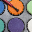 Stock Photo: Water color palettes