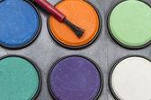 Palety barev vody — Stock fotografie