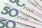 Moneda china - 50 yuan — Foto de Stock
