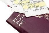 Passport and boarding Pass — Stock Photo
