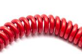 Rotes kabel — Stockfoto