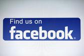 Facebook — 图库照片