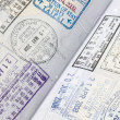 Stamps on passport — Stock Photo #15888581